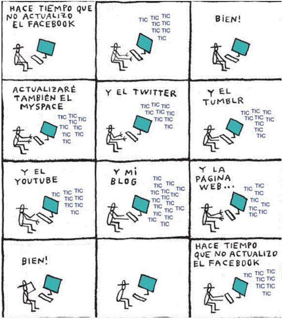 Facebook, Twitter, Flick,..